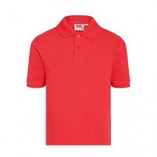 The Hawthorns - Red Short Sleeved Polo