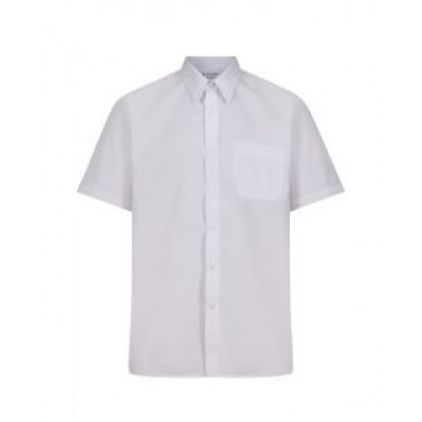 The Hawthorns - Short Sleeved White Shirts (Twin Pack)