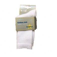 The Hawthorns - White Sports Socks 2pp