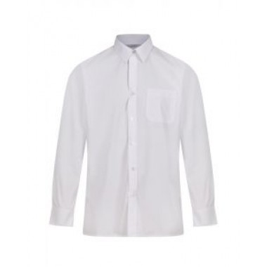 St Michaels - Long Sleeved White Shirts (Twin Pack)