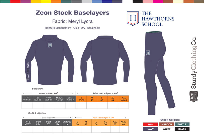 Hawthorns Baselayers